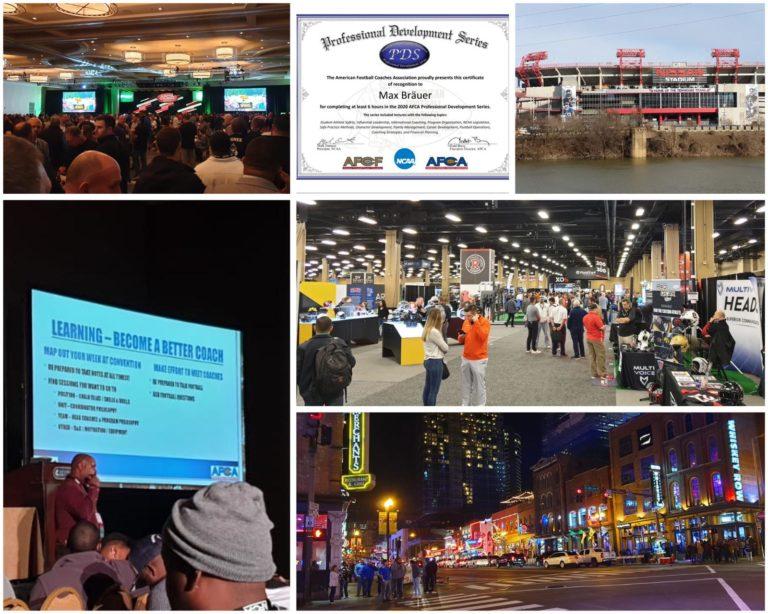 Grizzlies auf AFCA Convention in den USA